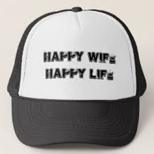 Happy Life Meme - happy wife happy life hats zazzle