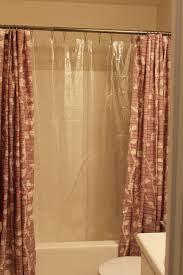 Design Ideas For Heavy Duty Curtain Rods Bed Bath Shower Curtain Rod Shower Curtains Ideas