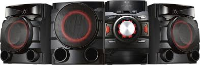 loud u0026 clear home theater lg 700w mini shelf system black cm4550 best buy
