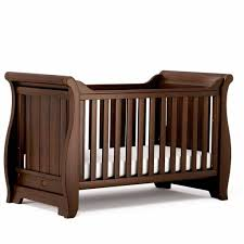 Boori Sleigh Cot Bed Boori Sleigh Cot Bed Oak Baby Shower