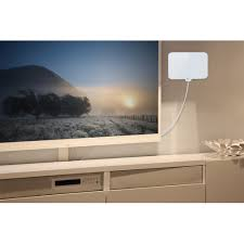 Hd Antenna Map 1byone 50 Miles Amplified Hdtv Antenna With Creative Adjustable