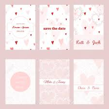 baby shower save the date set of vector card templates for save the date wedding