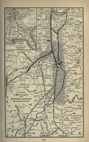 Chicago Railroad Map by Saalman Families Connect 3