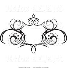 swirl designs grunge clipart