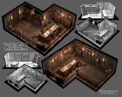Steampunk House Interior Steampunk Interior By Ferdinandladera On Deviantart