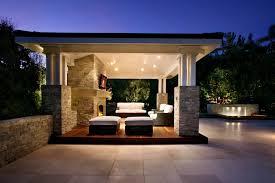Outdoor Living Space Ideas Case San Jose - Outdoor living room design
