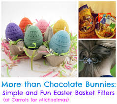easter basket fillers more than chocolate bunnies simple and kids easter basket