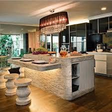 best 25 stone kitchen island ideas on pinterest stone bar