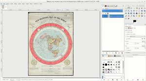 Correct World Map by Flat Earth Az Map Converts To Globe Globe Is A Projection
