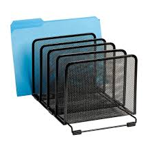 mesh letter tray mail sorter document desk office file organizer