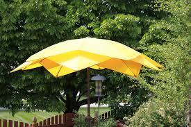 Orange Patio Umbrella by Amazon Com 8 U0027 Wind Resistant Lotus Fiberglass Patio Umbrella
