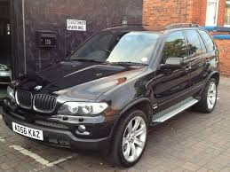 bmw x5 used cars for sale uk used bmw x5 2006 diesel 3 0d sport 5dr auto 4x4 black with front