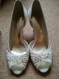wedding shoes monsoon monsoon size 3 satin wedding shoes 5 00 picclick uk