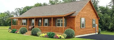Amish Built Manufactured Homes Log Cabins For Sale Cabin Houses
