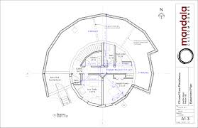 2 Bedroom House Plans With Basement Floor Plans Our Green Round Home