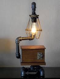 Desk Light Design 20 Interesting Industrial Pipe Lamp Design Ideas