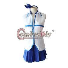Lucy Halloween Costume Cosplaydiy Anime Fairy Tail Lucy Heartfilia Cosplay Costume
