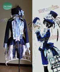 Black Butler Halloween Costumes Black Butler Ciel Phantomhive Black Suit Cosplay
