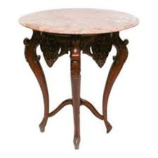 Marble Top Accent Table Vintage U0026 Used Victorian Side Tables Chairish
