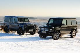 mercedes g wagon mercedes g class vs twisted defender auto express