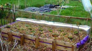 Strawberry Garden Beds Making A Raised Bed Out Of Pallets For Strawberry Plants Youtube