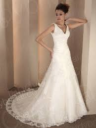 a line v neck wedding dresses pictures ideas guide to buying