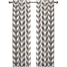 Black And Fuchsia Curtains Chevron Curtains You U0027ll Love Wayfair