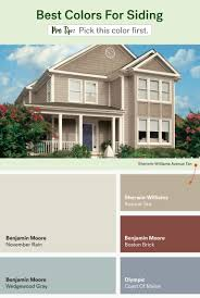 best colour for exterior house and outside paint color schemes