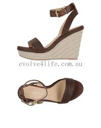tommy hilfiger womens dark brown wedges sandals clubyoga ca
