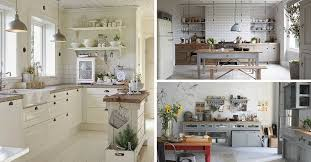decoration pour cuisine cuisine cagne chic 9 magnifiques idées de déco kitchens