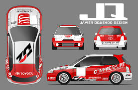 toyota rally car toyota glanza rally car livery by javieroquendodesign on deviantart