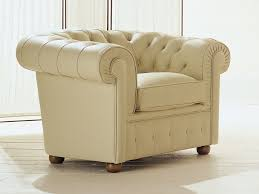 classic armchair in leather or eco leather