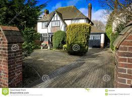 modern house mock up stock photo image 31396630