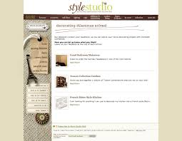 ballard designs style studio wordpress website sharpdot