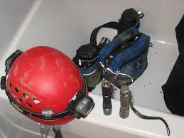 caving helmet with light caving light for first trip and helmet advice