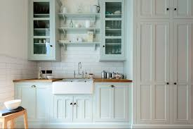 White Painted Cabinets With Glaze by 23 Gorgeous Blue Kitchen Cabinet Ideas