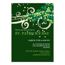 st patricks day invitations u0026 announcements zazzle
