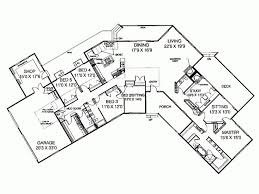 ranch style floor plans unique 5 bedroom ranch style house plans home plans design