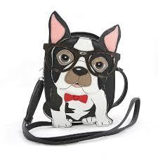 boston terrier purse ebay