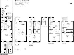 6 bedroom terraced house for sale in brunswick gardens london w8 w8
