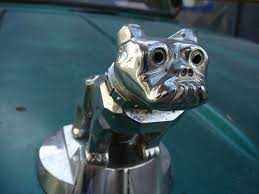 mack truck chrome bulldog ornament maracay