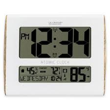 Digital Atomic Desk Clock Buy Atomic Digital Clocks From Bed Bath U0026 Beyond