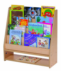 Bookshelf For Toddlers Amazon Com Steffy Wood Products Book Display Kitchen U0026 Dining