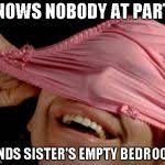 Panties Meme - panties on head meme generator imgflip