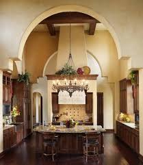 pretty center island tuscan kitchen design ideas two high chairs