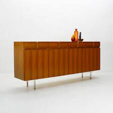 Wohnzimmerm El Furniert Walnuss Sideboard Von Ga El Möbel 1960er Bei Pamono Kaufen
