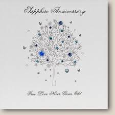 45 wedding anniversary 45 wedding anniversary cards 53 best sapphire wedding anniversary