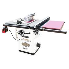 cabinet table saw for sale shop fox w1851 10 inch 2 hp hybrid cabinet table saw w extension