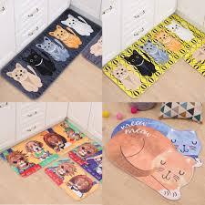 popular kawaii bedroom buy cheap kawaii bedroom lots from china kawaii welcome floor mats animal cute cat printed bathroom kitchen carpets house doormats for living room