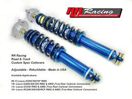 lexus is f usa rr racing releases new suspension for lexus is f u2013 rr racing